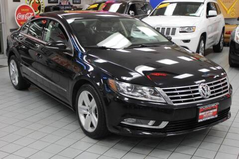 2013 Volkswagen CC for sale at Windy City Motors in Chicago IL