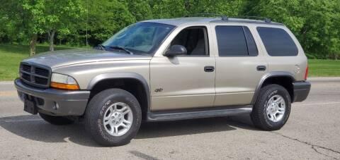 2002 Dodge Durango for sale at Superior Auto Sales in Miamisburg OH