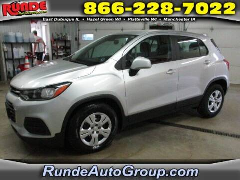 2017 Chevrolet Trax for sale at Runde PreDriven in Hazel Green WI