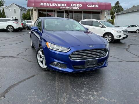 2016 Ford Fusion for sale at Boulevard Used Cars in Grand Haven MI
