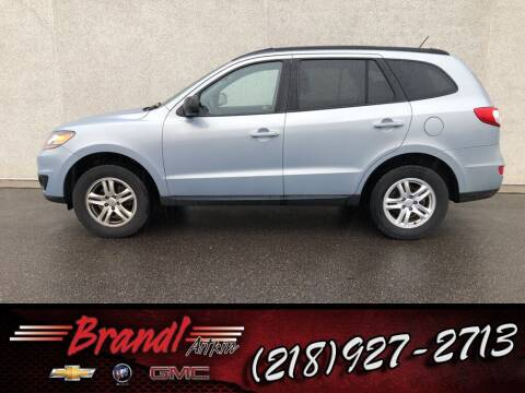 2010 Hyundai Santa Fe for sale at Brandl GM in Aitkin MN