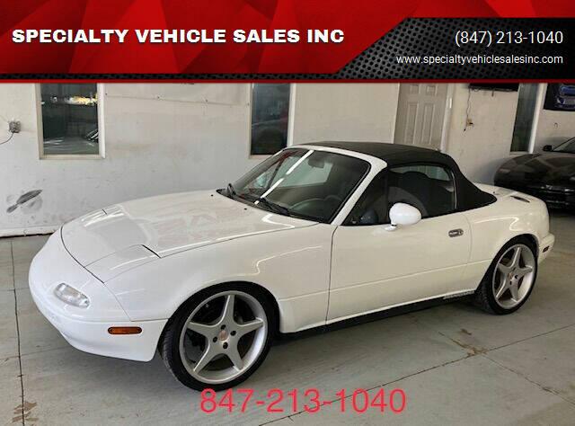1991 Mazda MX-5 Miata for sale at SPECIALTY VEHICLE SALES INC in Skokie IL