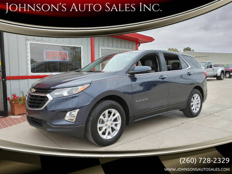 2018 Chevrolet Equinox for sale at Johnson's Auto Sales Inc. in Decatur IN