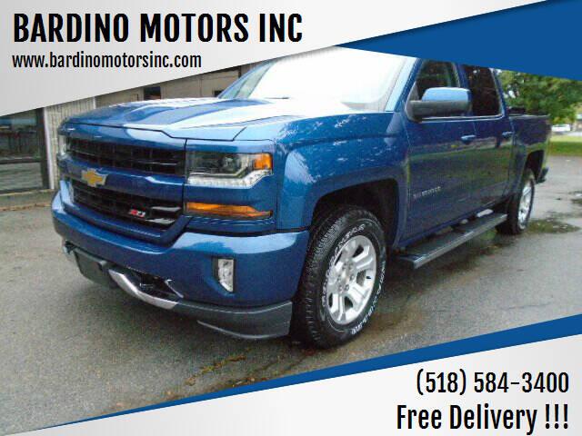 2017 Chevrolet Silverado 1500 for sale at BARDINO MOTORS INC in Saratoga Springs NY