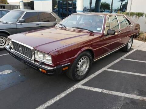 1986 Maserati Quattroporte for sale at Classic Car Deals in Cadillac MI