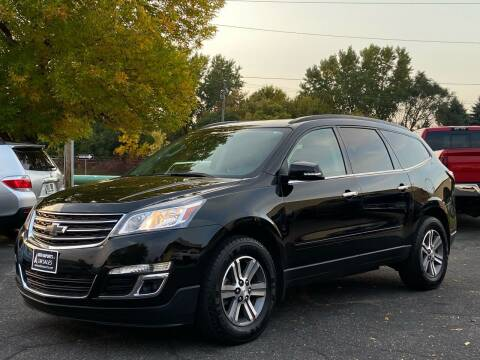 2017 Chevrolet Traverse for sale at North Imports LLC in Burnsville MN