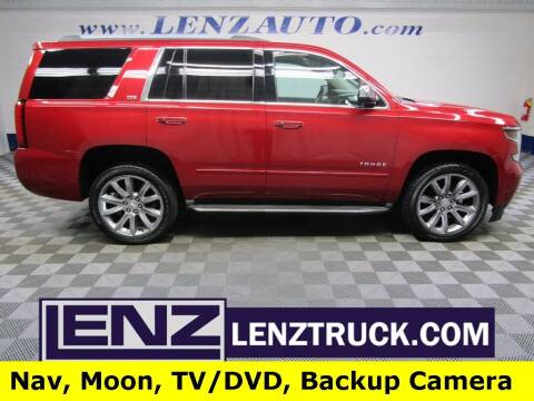 2015 Chevrolet Tahoe for sale at LENZ TRUCK CENTER in Fond Du Lac WI