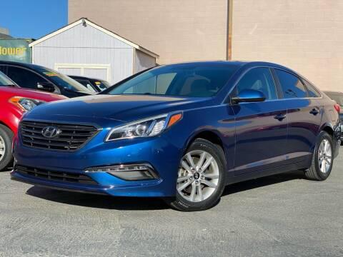 2015 Hyundai Sonata for sale at Cars 2 Go in Clovis CA