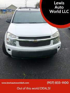 2005 Chevrolet Equinox for sale at Lewis Auto World LLC in Brookville OH