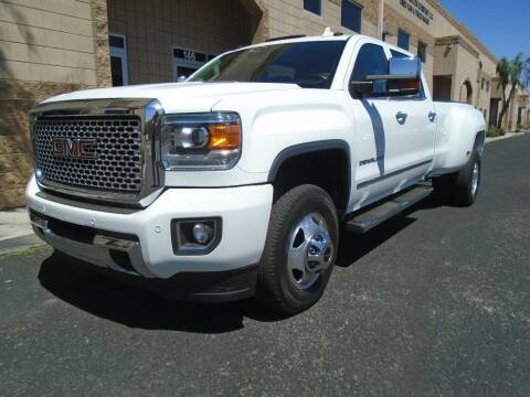 2016 GMC Sierra 3500HD for sale at COPPER STATE MOTORSPORTS in Phoenix AZ
