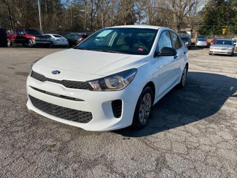 2018 Kia Rio for sale at Certified Motors LLC in Mableton GA
