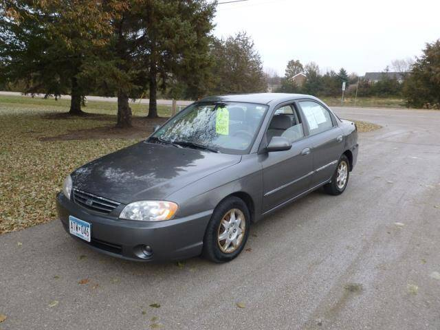 2003 Kia Spectra for sale at HUDSON AUTO MART LLC in Hudson WI