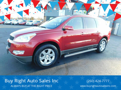 2012 Chevrolet Traverse for sale at Buy Right Auto Sales Inc in Fort Wayne IN