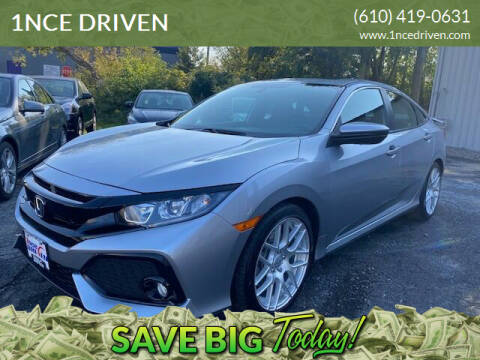 2018 Honda Civic for sale at 1NCE DRIVEN in Easton PA