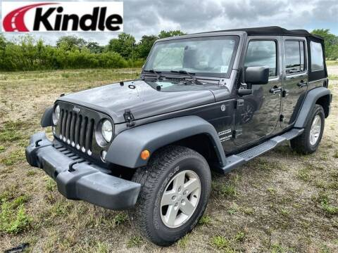 2017 Jeep Wrangler Unlimited for sale at Kindle Auto Plaza in Middle Township NJ