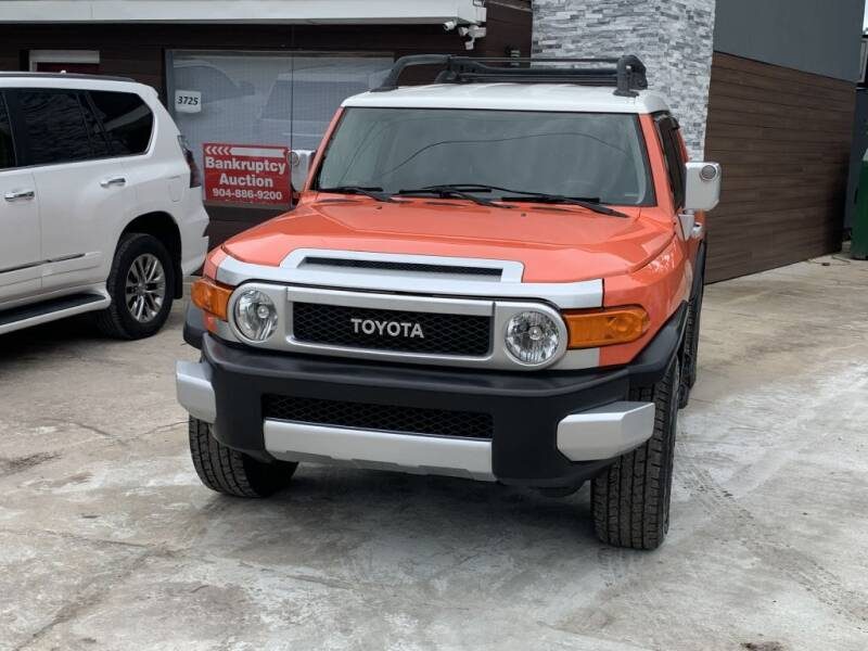 2013 Toyota FJ Cruiser for sale at REDLINE MOTORGROUP INC in Jacksonville FL