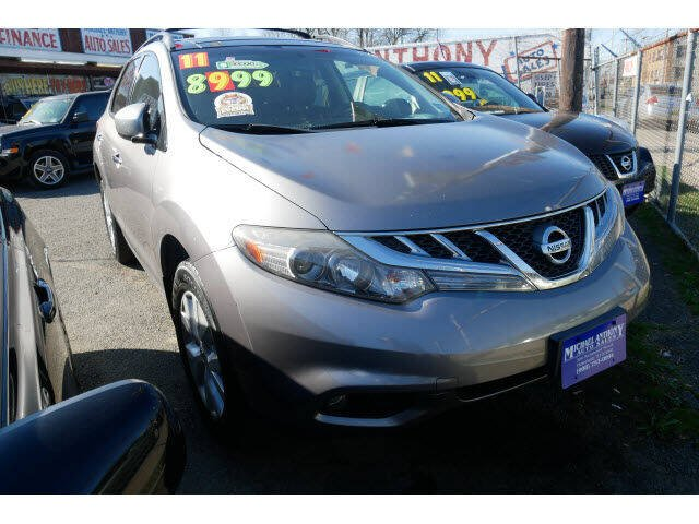 2011 Nissan Murano for sale at MICHAEL ANTHONY AUTO SALES in Plainfield NJ