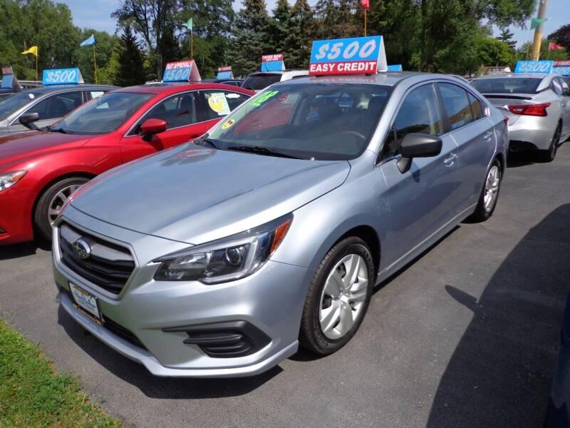 2018 Subaru Legacy for sale at North American Credit Inc. in Waukegan IL