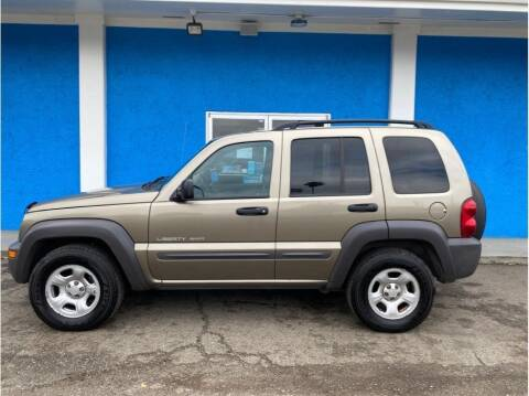 2003 Jeep Liberty for sale at Khodas Cars in Gilroy CA
