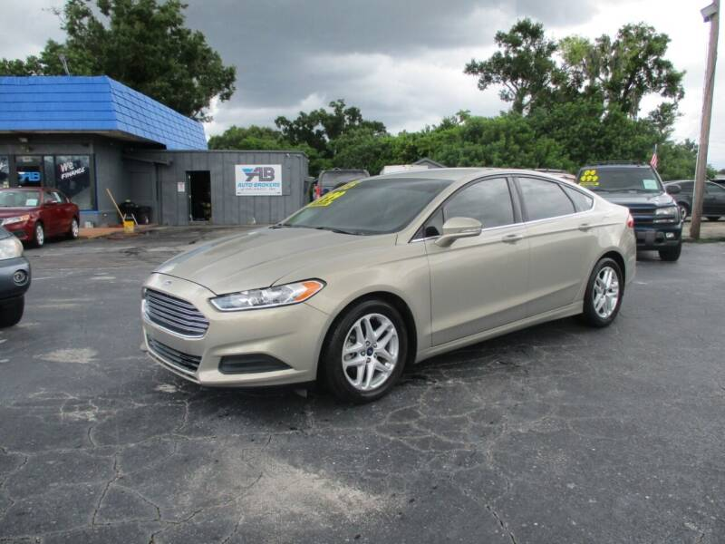 2015 Ford Fusion for sale at AUTO BROKERS OF ORLANDO in Orlando FL