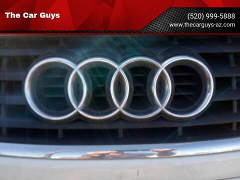 2005 Audi A4 for sale at The Car Guys in Tucson AZ