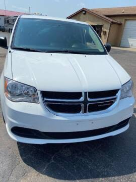 2014 Dodge Grand Caravan for sale at DAVE KNAPP USED CARS in Lapeer MI