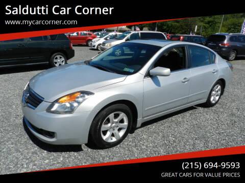 2009 Nissan Altima for sale at Saldutti Car Corner in Gilbertsville PA