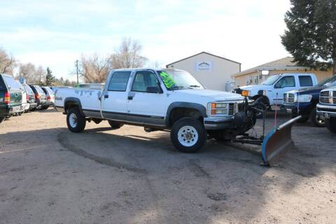 1994 GMC Sierra 3500 for sale at Northern Colorado auto sales Inc in Fort Collins CO