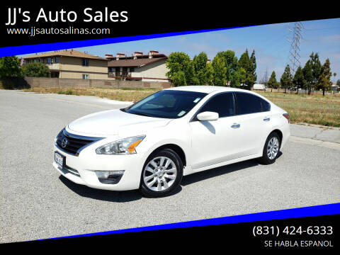 2014 Nissan Altima for sale at JJ's Auto Sales in Salinas CA