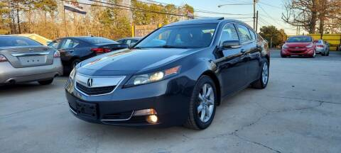 2013 Acura TL for sale at DADA AUTO INC in Monroe NC