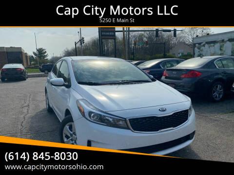 2017 Kia Forte for sale at Cap City Motors LLC in Columbus OH