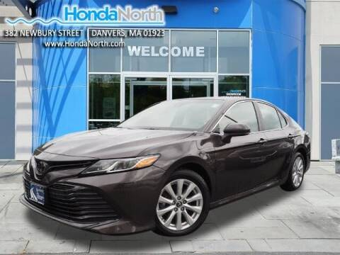 2018 Toyota Camry for sale at 1 North Preowned in Danvers MA