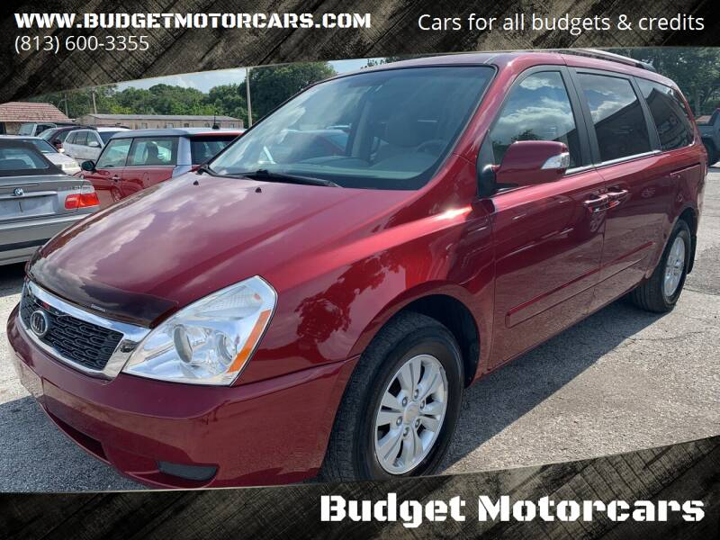 2012 Kia Sedona for sale at Budget Motorcars in Tampa FL