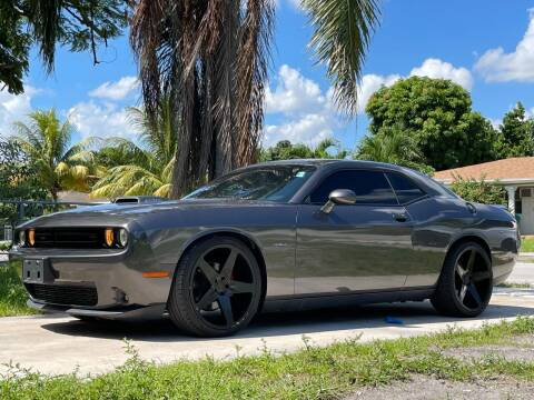 2015 Dodge Challenger for sale at Auto Direct of South Broward in Miramar FL