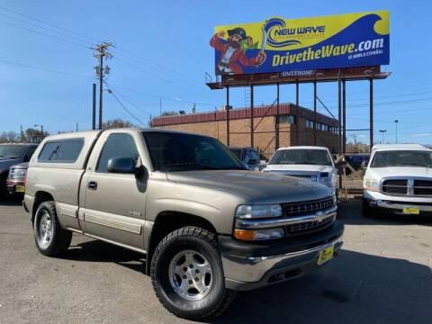 1999 Chevrolet Silverado 1500 for sale at New Wave Auto Brokers & Sales in Denver CO