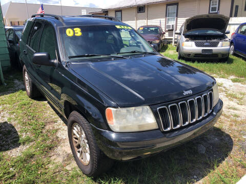 2003 Jeep Grand Cherokee for sale at Castagna Auto Sales LLC in Saint Augustine FL