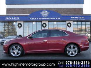 2014 Chevrolet Malibu for sale at Highline Group Motorsports in Lowell MA