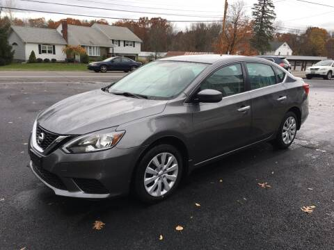 2016 Nissan Sentra for sale at Delafield Motors in Glenville NY
