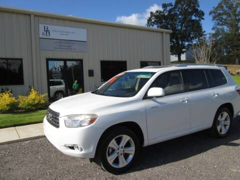 2008 Toyota Highlander for sale at B & B AUTO SALES INC in Odenville AL