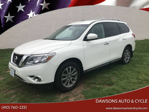 2016 Nissan Pathfinder for sale at Dawsons Auto & Cycle in Glen Burnie MD