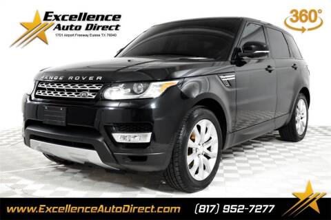 2014 Land Rover Range Rover Sport for sale at Excellence Auto Direct in Euless TX
