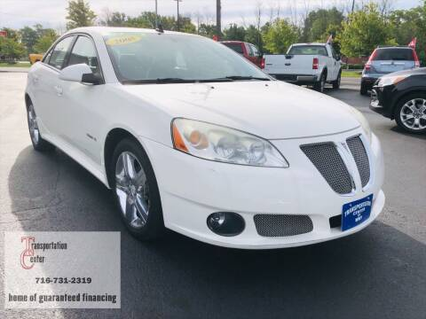 2008 Pontiac G6 for sale at Transportation Center Of Western New York in Niagara Falls NY