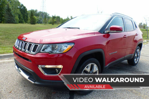 2019 Jeep Compass for sale at Macomb Automotive Group in New Haven MI