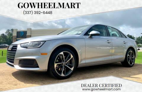 2019 Audi A4 for sale at GOWHEELMART in Leesville LA