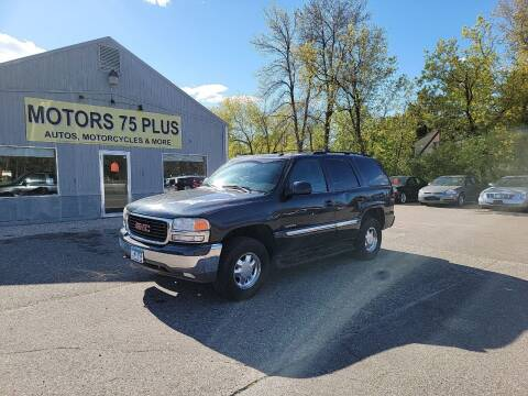 2003 GMC Yukon for sale at Motors 75 Plus in Saint Cloud MN