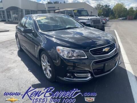 2014 Chevrolet SS for sale at KEN BARRETT CHEVROLET CADILLAC in Batavia NY