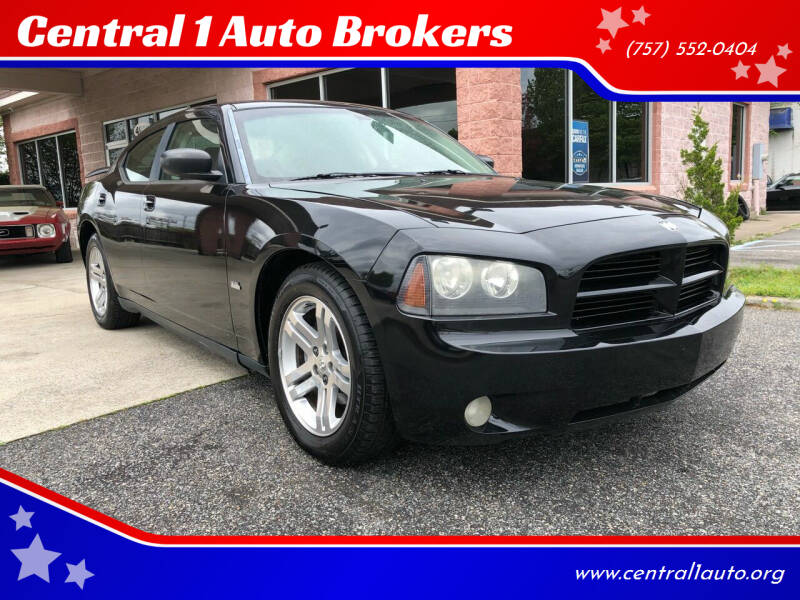 2009 Dodge Charger for sale at Central 1 Auto Brokers in Virginia Beach VA