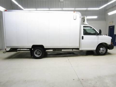 2013 GMC Savana Cutaway for sale at LENZ TRUCK CENTER in Fond Du Lac WI