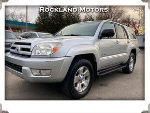 2004 Toyota 4Runner for sale at Rockland Automall - Rockland Motors in West Nyack NY
