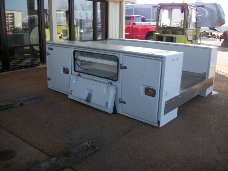Altec Fiberglass Box for sale at Classics Truck and Equipment Sales in Cadiz KY